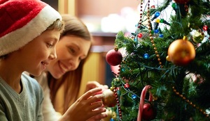 Sharing parenting over Christmas