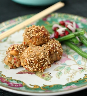 Super-healthy salmon and tuna fishcakes
