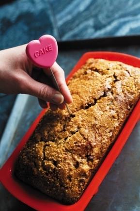 Heart-shaped cake tester