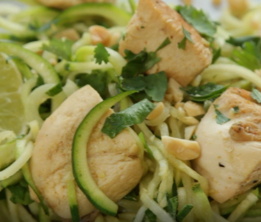 Zesty Chicken Courgetti