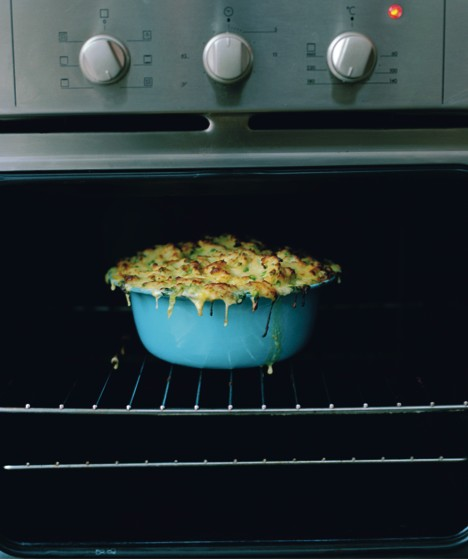 One mean, green fish pie