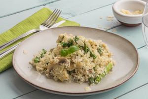 Cauliflower rice risotto