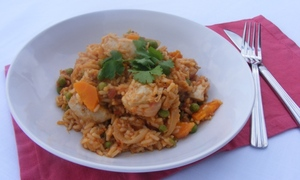 Arroz con pollo (Mexican chicken with rice)