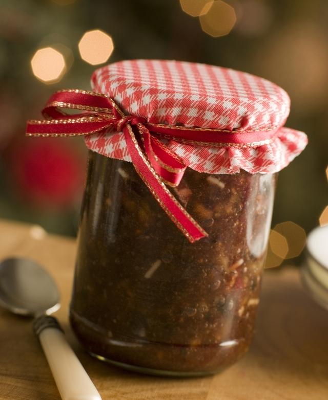 Homemade christmas mincemeat