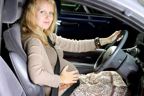Car safety during pregnancy