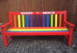 How these schoolyard Buddy Benches are helping stamp out bullying