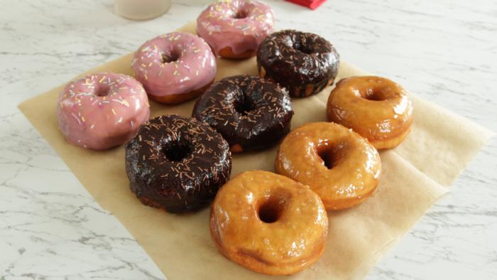 Donuts 3 ways