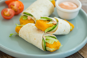 Fish Finger Mini Wrap