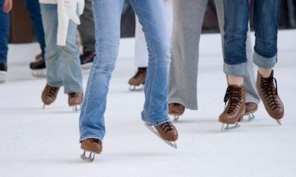 Ice Skating at Charlestown