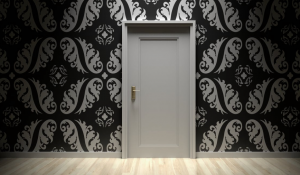 The latest home decor trend....a panic room