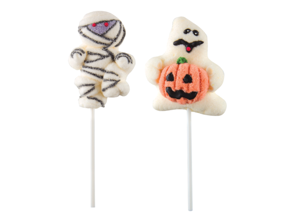 Halloween Mallow Pops
