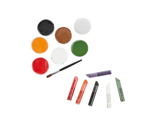 SNAZAROO Face Painting Sticks/Aqua Face Paint Set