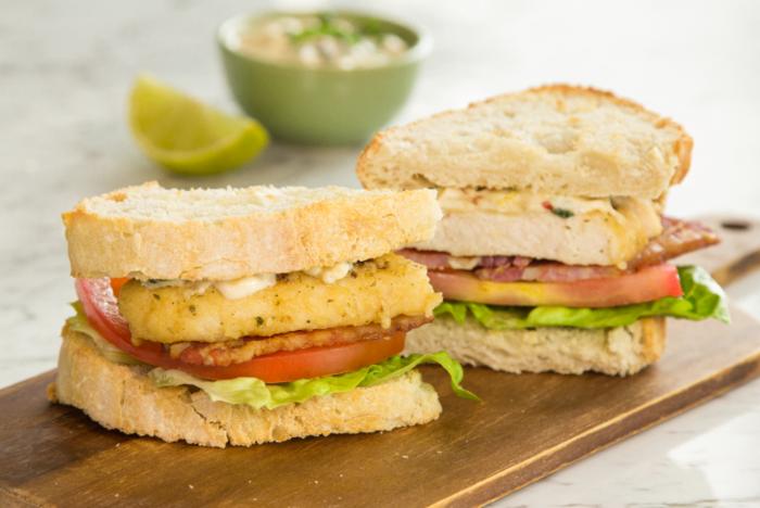 Mojito Inspired Chicken Chargrill Sandwich