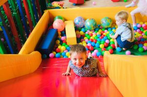 Is it ok to go UP the slide? The UNSPOKEN rules of the soft play area