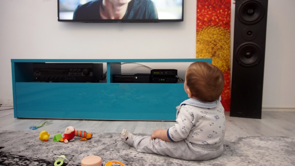 This is why your toddler stands so close to the TV, says an