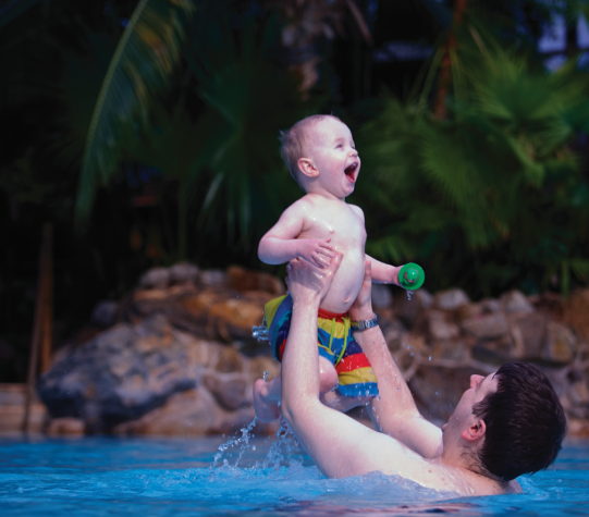 Childrens firsts at Center Parcs Longford