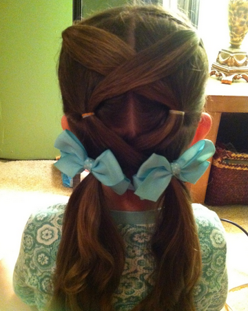Little Girls Hairstyles For A Special Occasion