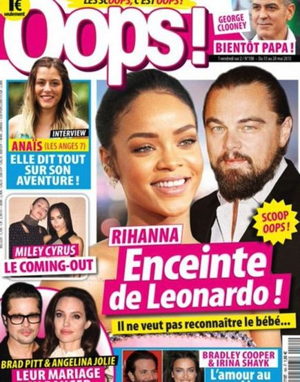 Leonardo DiCaprio wins lawsuit over Rihanna pregnancy story