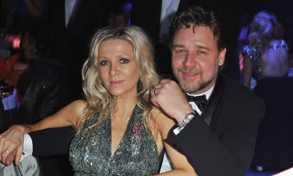 Russell Crowe 'jealous' his ex-wife's partner sees his kids more