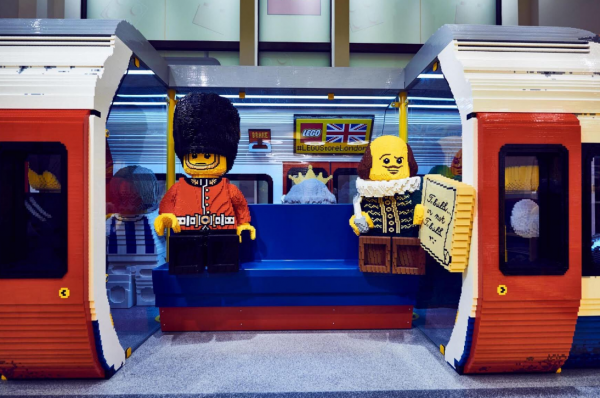 The world's largest LEGO store has just opened and it's what